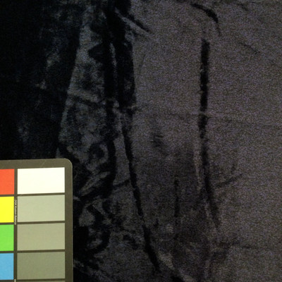 blue speckled faux fur microfiber fabric