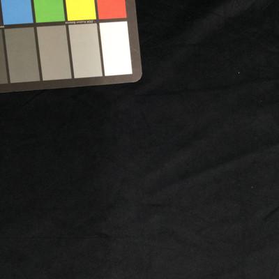 black suede microfiber fabric