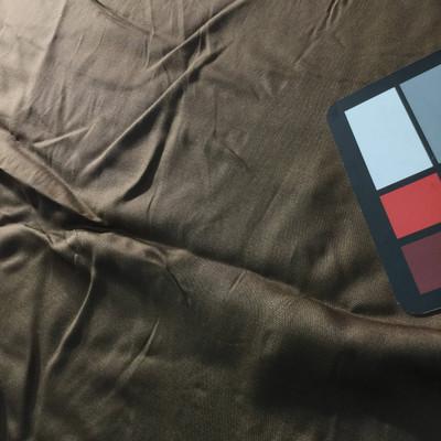 brown linen weave fabric