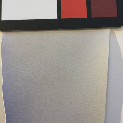 2.1 Yard Piece of Faux Leather Vinyl Fabric | Light Gray | Upholstery / Bag Making | 54 Wide