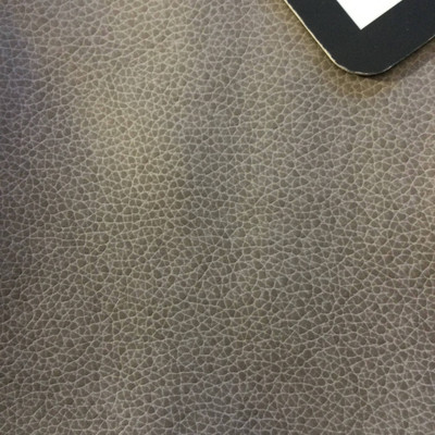 6.3 Yard Piece of Faux Leather Vinyl Fabric   Gray Medium Grain   Upholstery / Bag Making   54 Wide