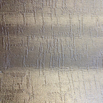 1 Yard Piece of Vinyl Fabric | Silver Abstract Texture | Felt-Backed | Upholstery / Bag Making | 54 Wide