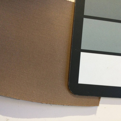 6.5 Yard Piece of Satin Finish Vinyl Fabric | Brown | Upholstery / Bag Making | 54 Wide
