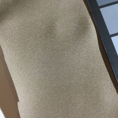 4.5 Yard Piece of Satin Finish Vinyl Fabric | Medium Taupe Woven Texture | Upholstery / Bag Making | 54 Wide