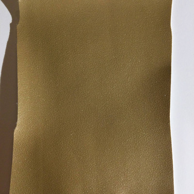 4.8 Yard Piece of Faux Leather Vinyl Fabric | Pearly Tan | Upholstery / Bag Making | 54 Wide