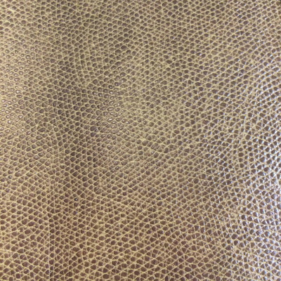 4.8 Yard Piece of Faux Leather Vinyl Fabric | Two Toned Brown | Felt-Backed | Upholstery / Bag Making | 54 Wide
