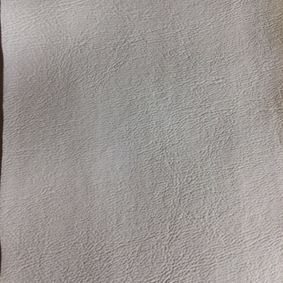 3.3 Yard Piece of Faux Leather Vinyl Fabric | White Light Grain | Upholstery / Bag Making | 54 Wide