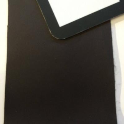 2.8 Yard Piece of Satin Finish Vinyl Fabric | Dark Brown | Upholstery / Bag Making | 54 Wide
