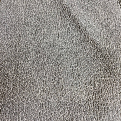 4.3 Yard Piece of Faux Leather Vinyl Fabric | Dark Beige Lightly Textured | Upholstery / Bag Making | 54 Wide