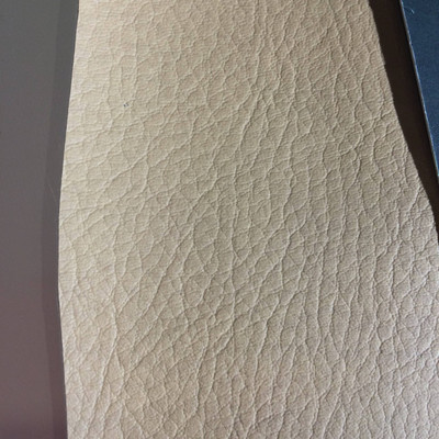 4.1 Yard Piece of Faux Leather Vinyl Fabric | Matte Brown | Upholstery / Bag Making | 54 Wide