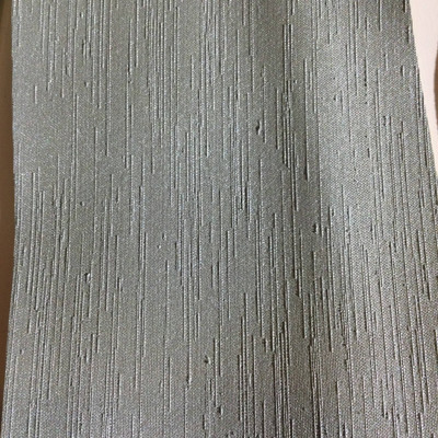 6.5 Yard Piece of Satin Finish Vinyl Fabric | Sage Green Woven Texture | Felt-Backed | Upholstery / Bag Making | 54 Wide