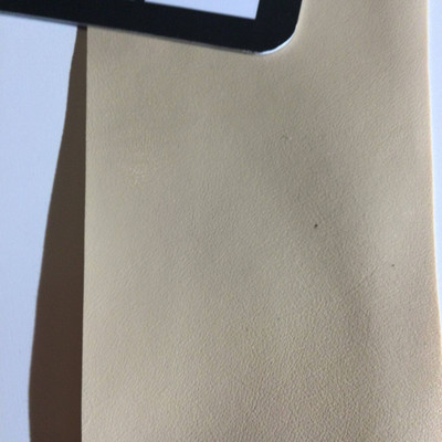 4.8 Yard Piece of Faux Leather Vinyl Fabric   Tan   Upholstery / Bag Making   54 Wide