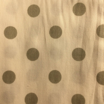 Polk Dots Gray on White   Home Decor Fabric   Premier Prints   54 Wide   By the Yard