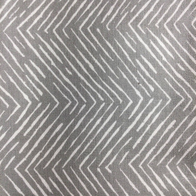 Sketched Chevron in Gray / White   Home Decor Fabric   Premier Prints   54 Wide   By the Yard
