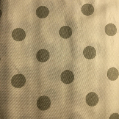 Polka Dots Gray / White | Home Decor Fabric | Premier Prints | 54 Wide | By the Yard