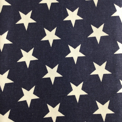 Americana Stars Navy Blue / White | Home Decor Fabric | Premier Prints | 54 Wide | By the Yard