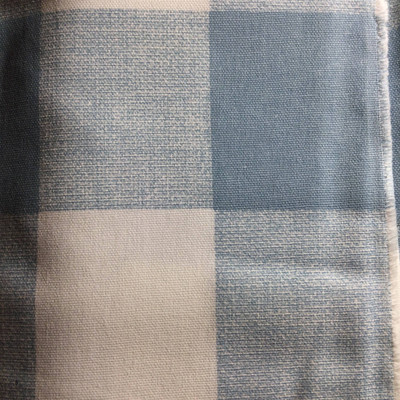 Buffalo Plaid Sky Blue / White | Home Decor Fabric | Premier Prints | 54 Wide | By the Yard