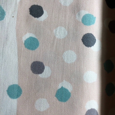 Random Dots in Pink / Blue / Gray   Home Decor Fabric   Premier Prints   54 Wide   By the Yard
