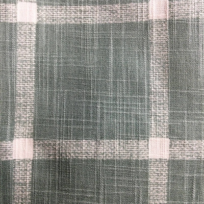 Windowpane Plaid Sage Green / Off White | Home Decor Fabric | Premier Prints | 54 Wide | By the Yard