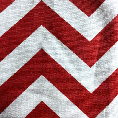 Chevron Red / White | Home Decor Fabric | Premier Prints | 54 Wide | By the Yard