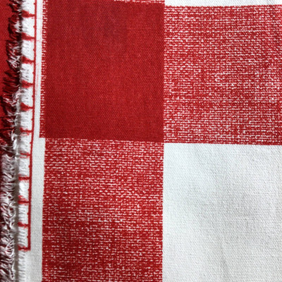 Buffalo Plaid Red / White | Home Decor Fabric | Premier Prints | 54 Wide | By the Yard