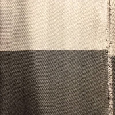Extra Wide Horizontal Stripes Gray / White | Home Decor Fabric | Premier Prints | 54 Wide | By the Yard