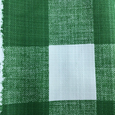 Buffalo Plaid Green / White | Home Decor Fabric | Premier Prints | 54 Wide | By the Yard