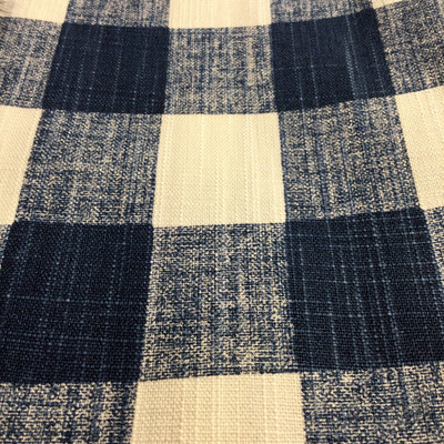 Checked Plaid Blue / White | Home Decor Fabric | Premier Prints | 54 Wide | By the Yard