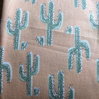Desert Cactus Pink / Green | Home Decor Fabric | Premier Prints | 54 Wide | By the Yard