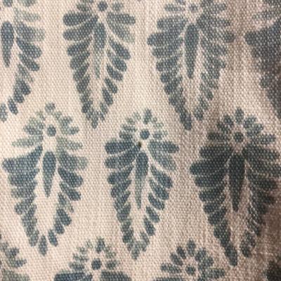 Flourish Cone Blue / White | Home Decor Fabric | Premier Prints | 54 Wide | By the Yard