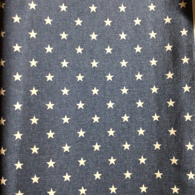 Tiny Americana Stars Blue / White | Home Decor Fabric | Premier Prints | 54 Wide | By the Yard