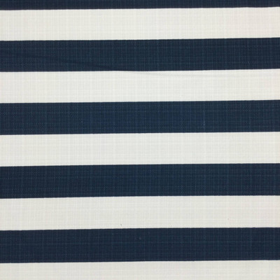 Navy Blue and White Vertical Stripes Canvas   Home Decor Fabric   Premier Prints   54 Wide   By the Yard