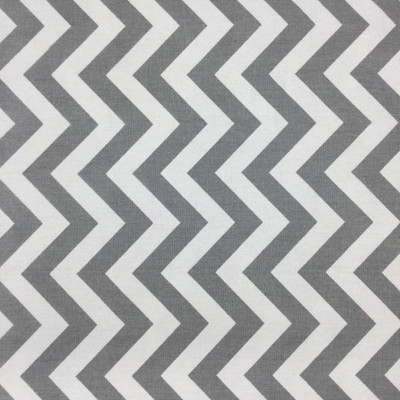 Chevron Gray and White | Home Decor Fabric | Premier Prints | 54 Wide | By the Yard