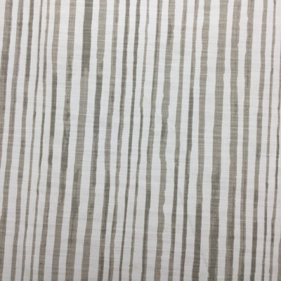 Relaxed Stripes Taupe / White Canvas | Home Decor Fabric | Premier Prints | 54 Wide | By the Yard