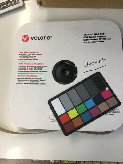 "1"" Velcro Brand HOOK | Tan | Sew-on Fastener -2"