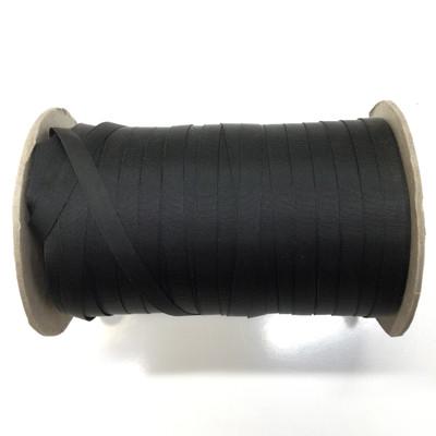 """3/8"""" Black Milspec Nylon Grosgrain Ribbon"""