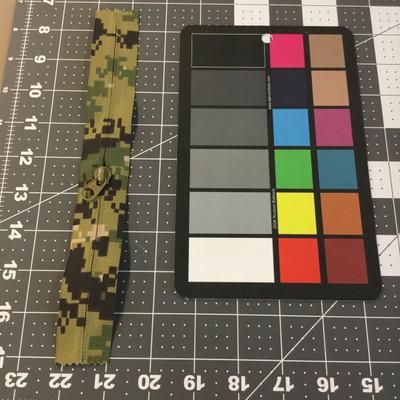"8.25"" Coil Zipper | Digital Green Camouflage | Bags / Pockets"
