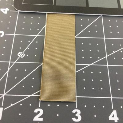 "1"" Tan Nylon Grosgrain Ribbon / Webbing   Milspec"