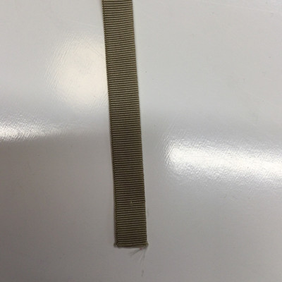 "3/8"" Tan Nylon Grosgrain Ribbon | Milspec"