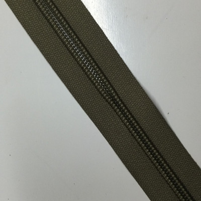 #5 Tan Nylon Coil Zipper   By the Yard   For Bags / Backpacks