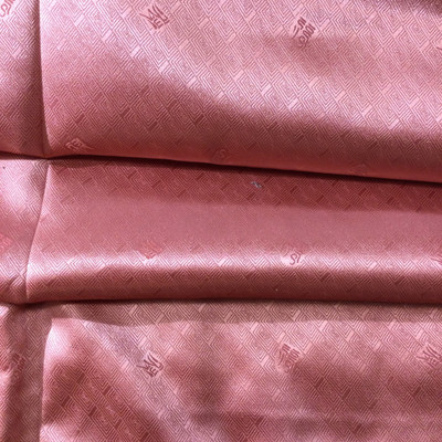 """Salmon Pink with Asian Symbols 