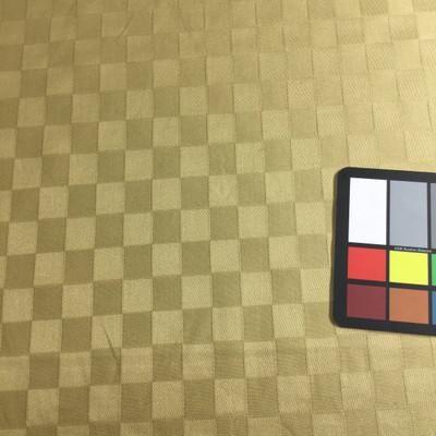 woven checkerboard in tan