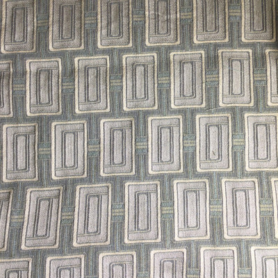 """Tone on Tone Green Geometric 