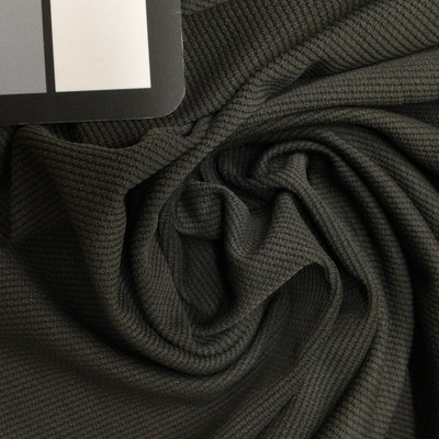 Slate Textured Diamond Solid Stretch Knit