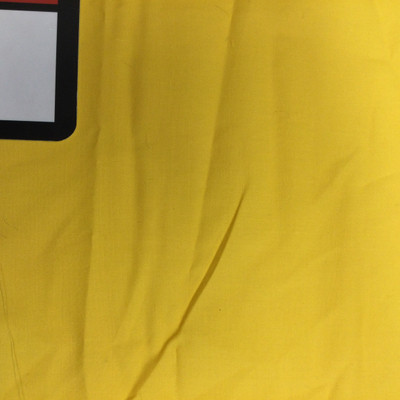 Sunshine Yellow Polyester Cotton Broadcloth Fabric   Great for  Linings Crafts Drapery   60 Inch wide By The Yard