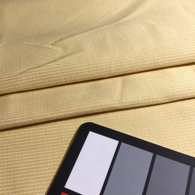 """Muted Yellow Subtle Striping   Upholstery Fabric   54"""" Wide   By the Yard"""