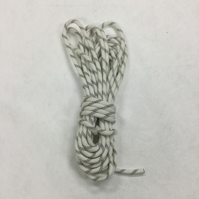 21.8 Yard Piece of Safety Rope - 9 mm   White   By the Piece   Remnant