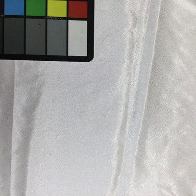Bright White Polyester Satin Fabric | Lightweight | By the Yard | 60 Inch Wide