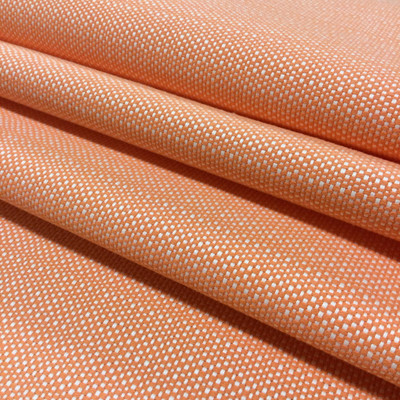 """Orange and White Basketweave 