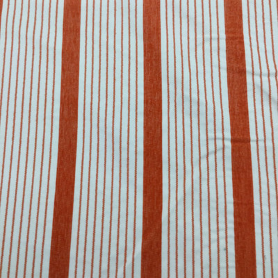 """Orange and White Stripes 